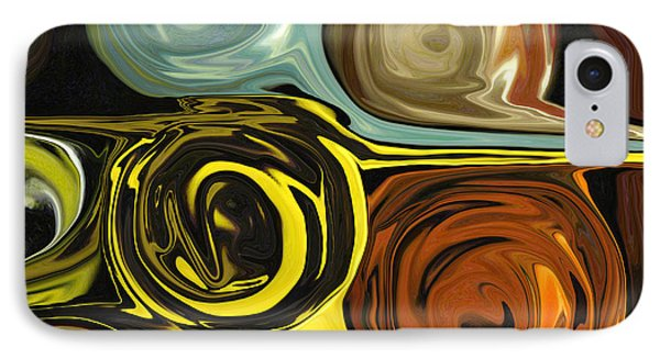 IPhone Case featuring the digital art Tendrils by Mary Bedy