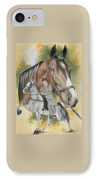 Tennesse Walking Horse IPhone Case