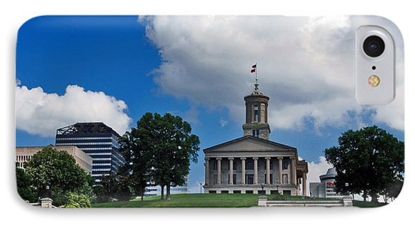Tennessee State Capitol Nashville IPhone Case by Susanne Van Hulst