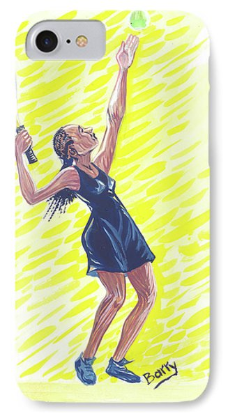 Tennis 01 Phone Case by Emmanuel Baliyanga