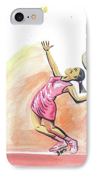 Tennis 03 Phone Case by Emmanuel Baliyanga