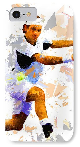 IPhone Case featuring the painting Tennis 114 by Movie Poster Prints
