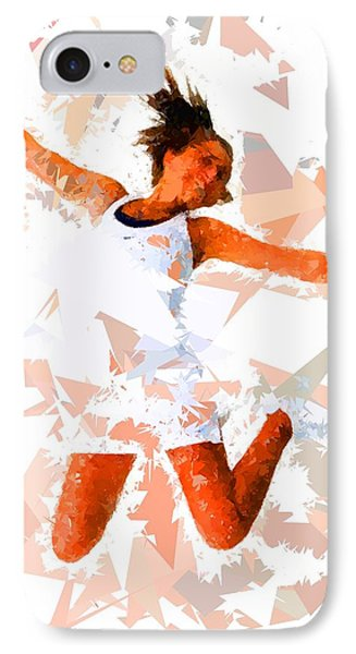 IPhone Case featuring the painting Tennis 115 by Movie Poster Prints