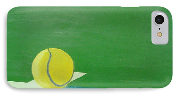 Tennis Reflections Phone Case by Ken Pursley