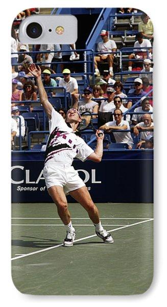 Tennis Serve IPhone Case