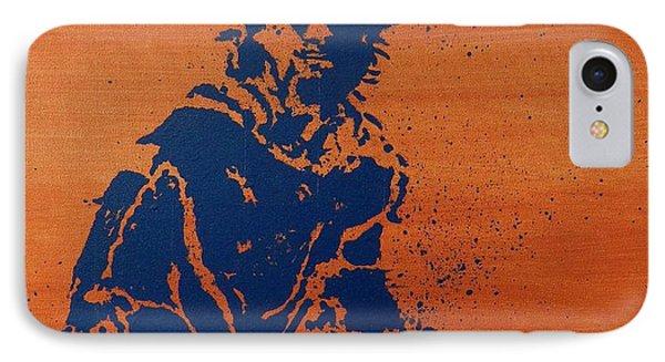 Tennis Splatter Phone Case by Ken Pursley