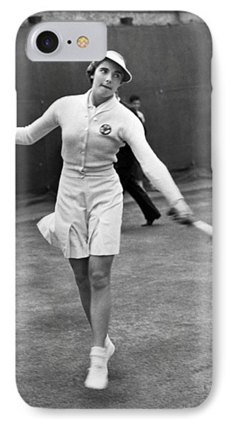 Tennis Star Katherine Stammers IPhone Case by Underwood Archives
