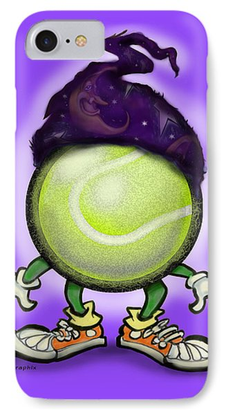 Tennis Wiz Phone Case by Kevin Middleton