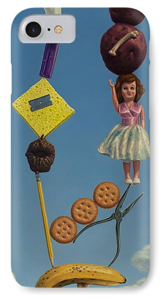 Tenuous Still-life 2 Phone Case by James W Johnson