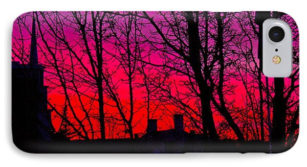 Tequila Sunrise IPhone Case by Alice Mainville