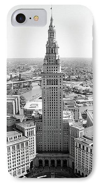 Terminal Tower Ca. 2015 IPhone Case