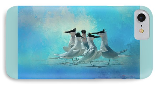 Tern And Look IPhone Case by Marvin Spates