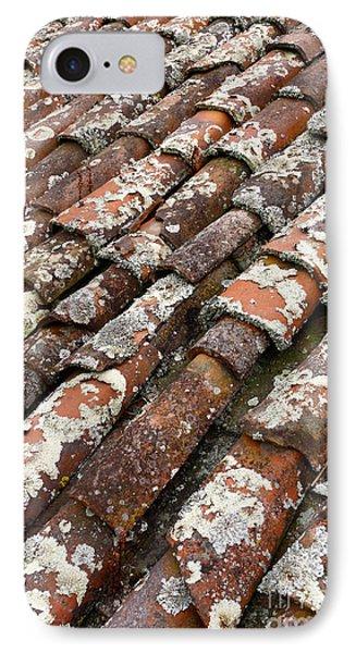 Terra Cotta Roof Tiles Phone Case by Gaspar Avila