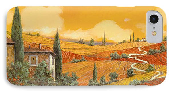 terra di Siena Phone Case by Guido Borelli