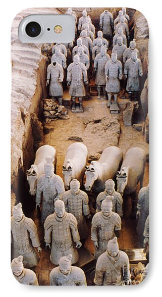 IPhone Case featuring the photograph Terracotta Army by Heiko Koehrer-Wagner