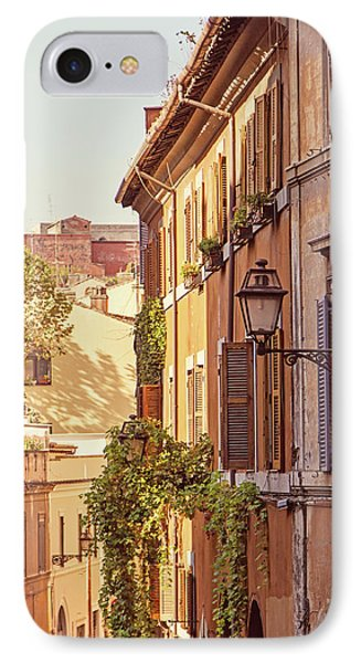 IPhone Case featuring the photograph Terracotta - Rome Italy Travel Photography by Melanie Alexandra Price