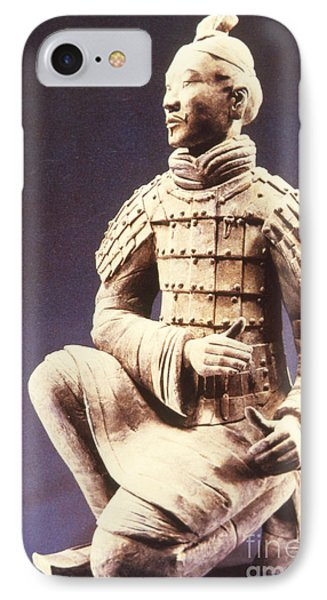 IPhone Case featuring the photograph Terracotta Soldier by Heiko Koehrer-Wagner