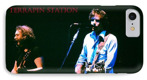 Terrapin Station - Grateful Dead IPhone Case by Susan Carella