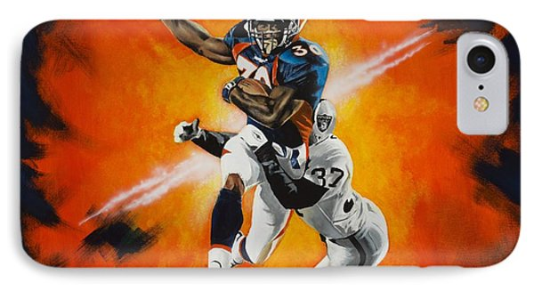 Terrell Davis II IPhone Case
