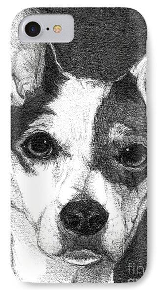Buddy IPhone Case by Faithful Faces Pet Portraits