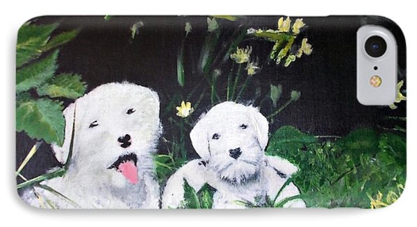 Terriers' Farm Pals. IPhone Case