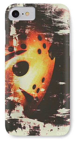 Hockey iPhone 7 Case - Terror On The Ice by Jorgo Photography - Wall Art Gallery