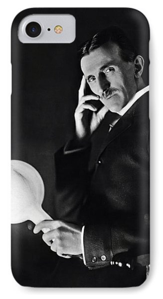 Tesla And Wireless Light Bulb IPhone Case