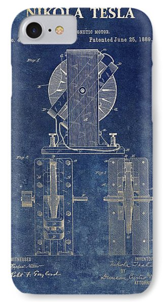 Tesla Electro Magnetic Motor IPhone Case by Dan Sproul