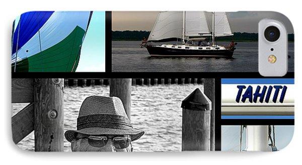 Tahiti Square Collage IPhone Case