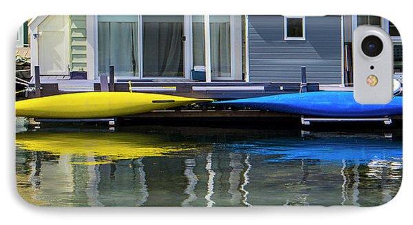 Marina Living In Victoria British Columbia 2to1 IPhone Case by Ben and Raisa Gertsberg