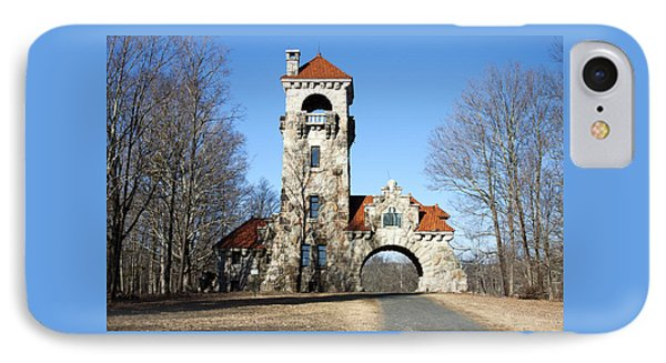 IPhone Case featuring the photograph Testimonial Gateway Tower #1 by Jeff Severson