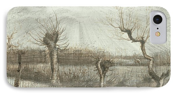 Tetards  Pollards IPhone Case by Vincent Van Gogh