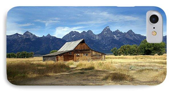 Teton Barn 3 Phone Case by Marty Koch
