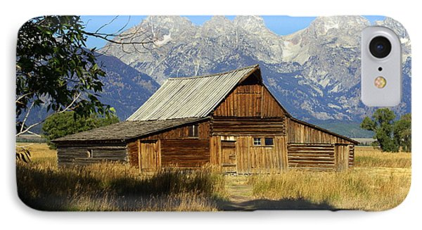 Teton Barn 4 Phone Case by Marty Koch