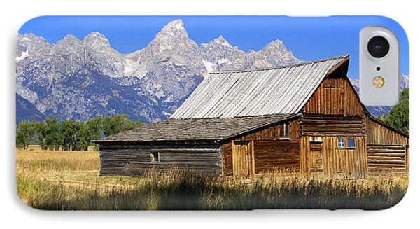 Teton Barn 5 Phone Case by Marty Koch
