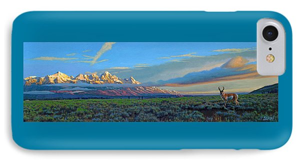 Teton Morning IPhone Case