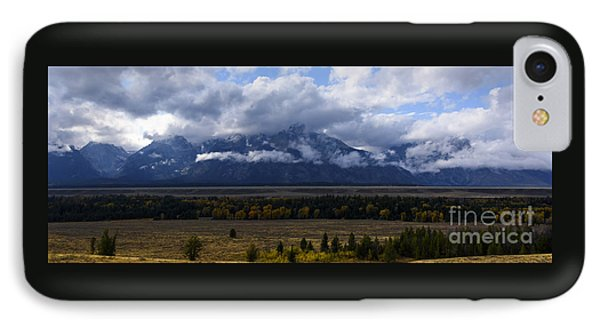 Teton Range # 1 IPhone Case