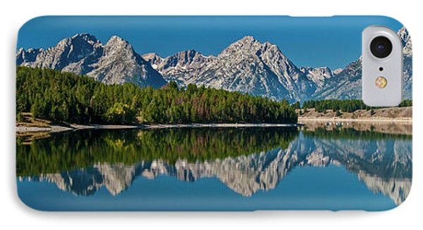 IPhone Case featuring the photograph Teton Reflections by Gary Lengyel