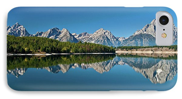 IPhone Case featuring the photograph Teton Reflections II by Gary Lengyel