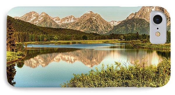 Teton Reflections IPhone Case by Rebecca Hiatt