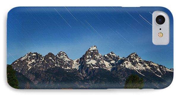 Teton Star Trails IPhone Case