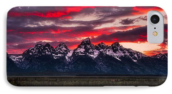 Teton Sunset IPhone 7 Case