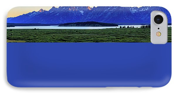 Teton Sunset IPhone 7 Case by David Chandler