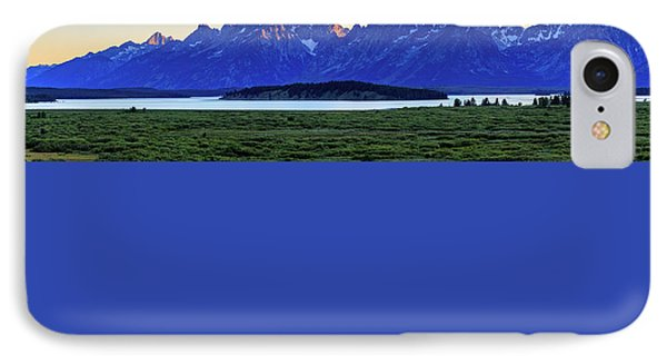 IPhone 7 Case featuring the photograph Teton Sunset by David Chandler
