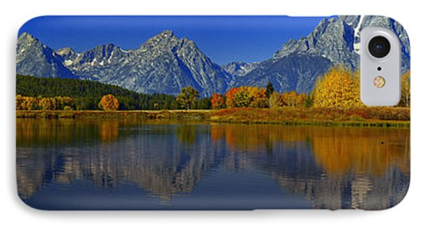 Tetons From Oxbow Bend IPhone Case