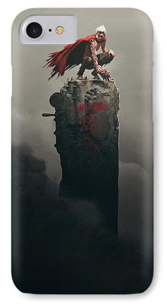 Tetsuo Shima IPhone Case by Guillem H Pongiluppi