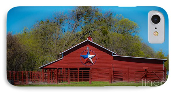Texas Barn IPhone Case by John Roberts