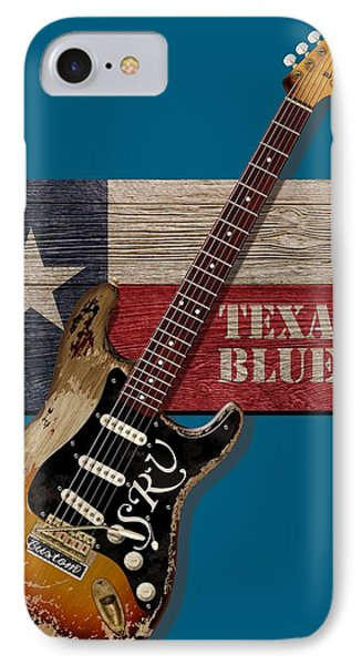 Texas Blues Shirt IPhone Case by WB Johnston