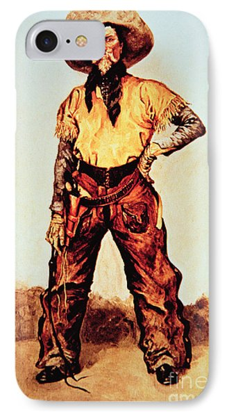 Texas Cowboy IPhone Case by Frederic Remington