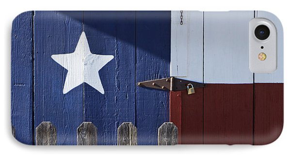 Texas Flag Painted On A House Phone Case by Jeremy Woodhouse